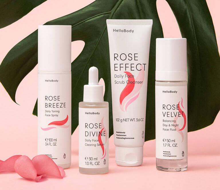 La gamme Rose Pure Balance