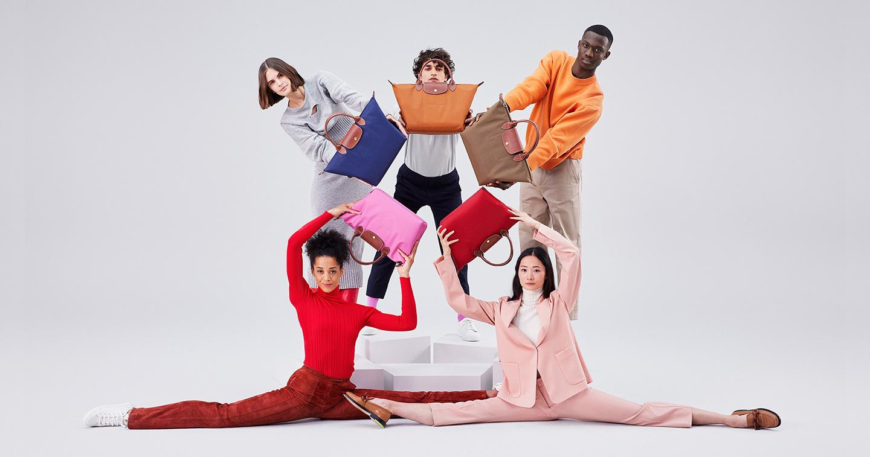 Campagne pour le sac Le Pliage