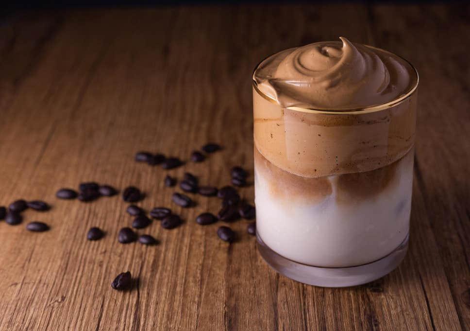 Le dalgona coffee