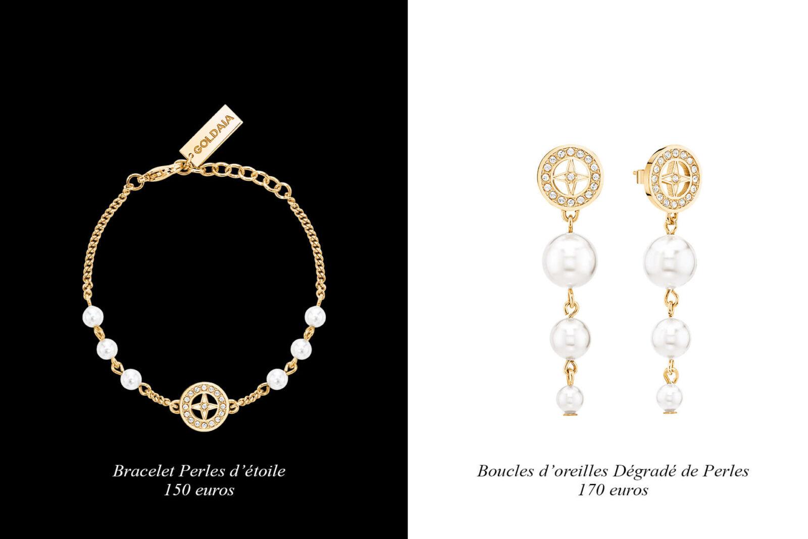 , le bracelet « Perles d'étoile »,les boucles d'oreilles « Dégradé de perles » ou encore le collier « Finesse » ont fait l'unanimité chez les femmes