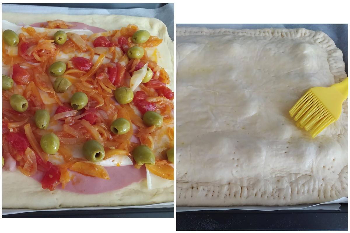 pizza italienne - pizza remplie
