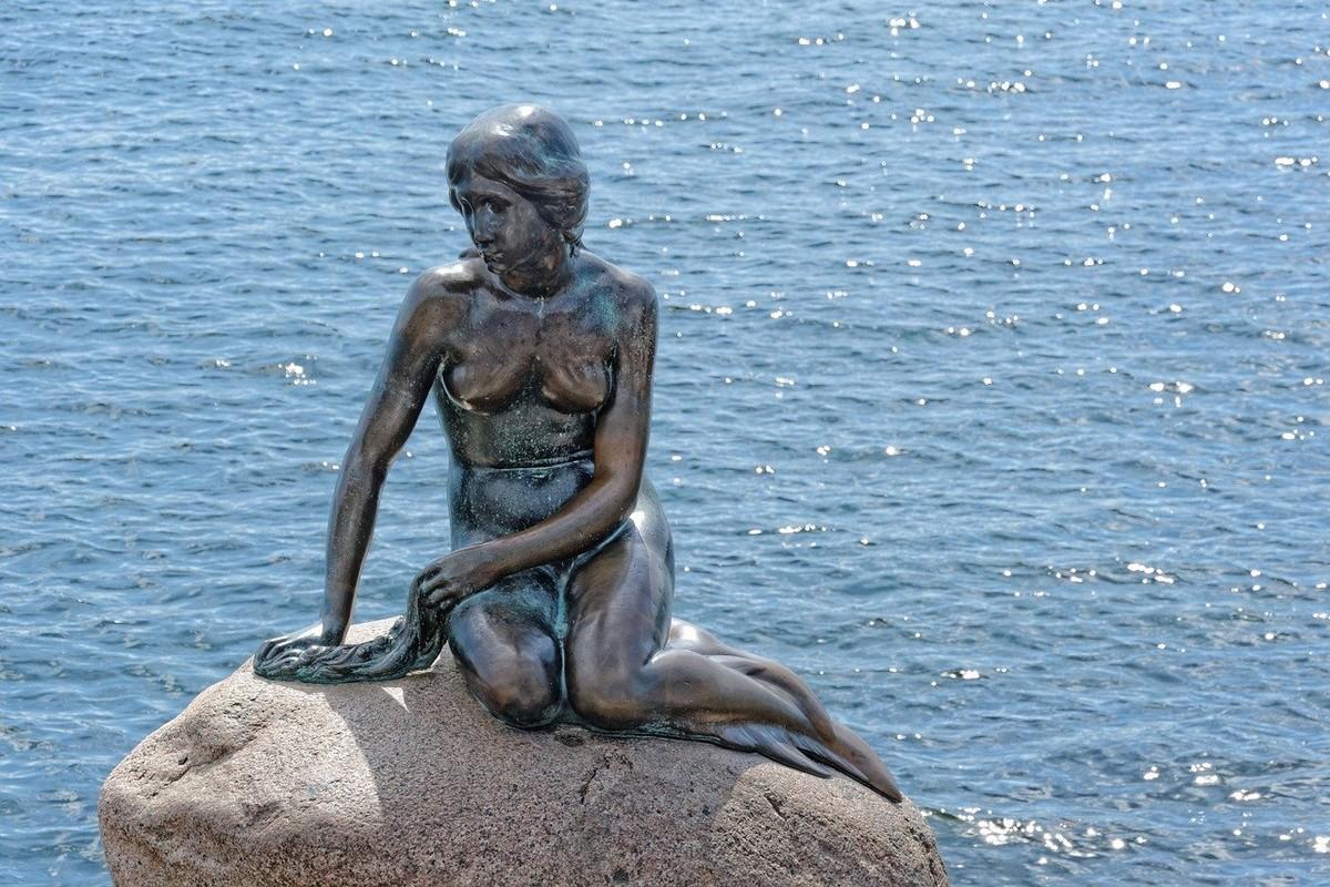 danemark - la petite sirène