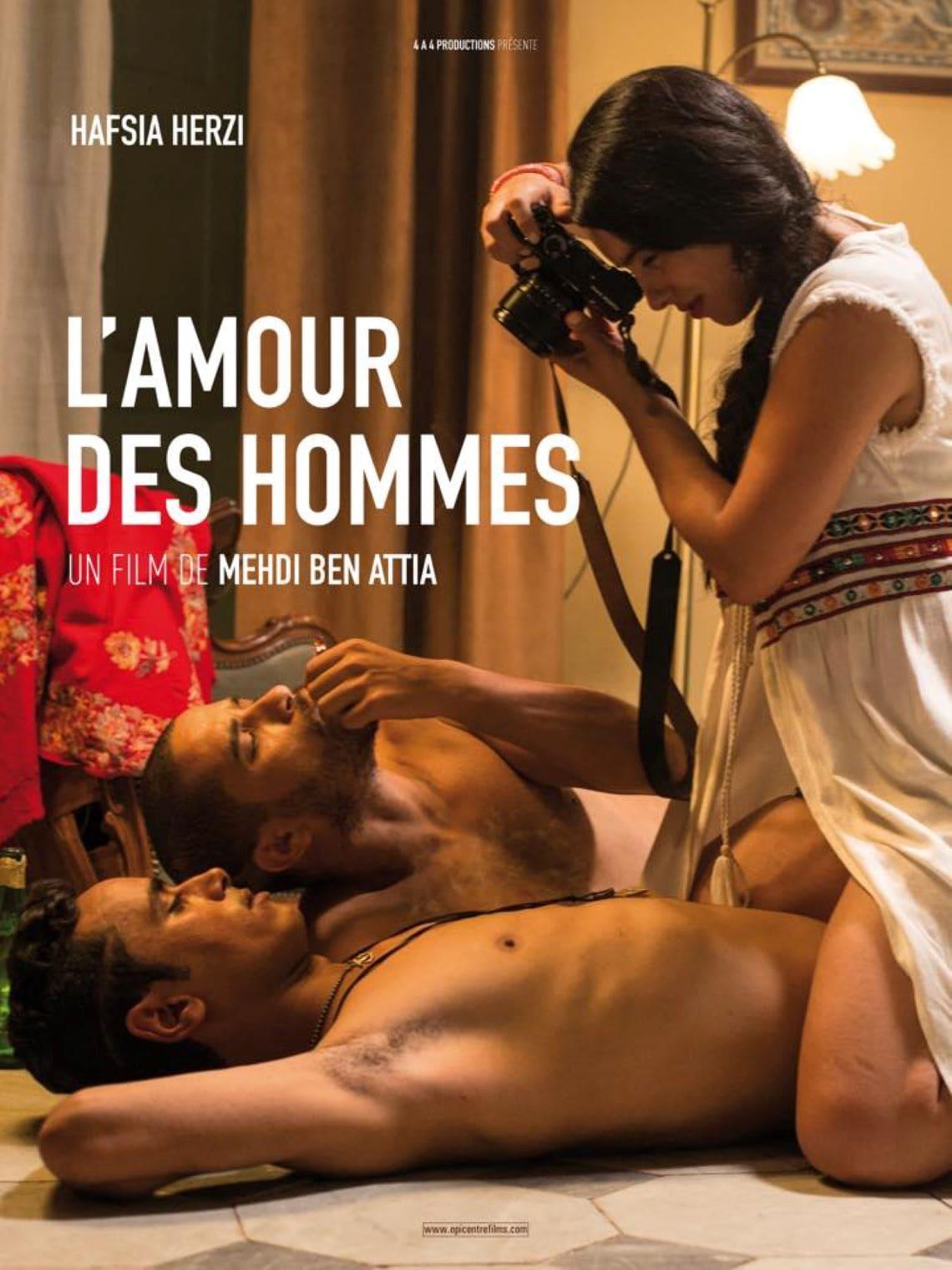 Affiche de L'Amour des hommes - photo Amel Guellaty