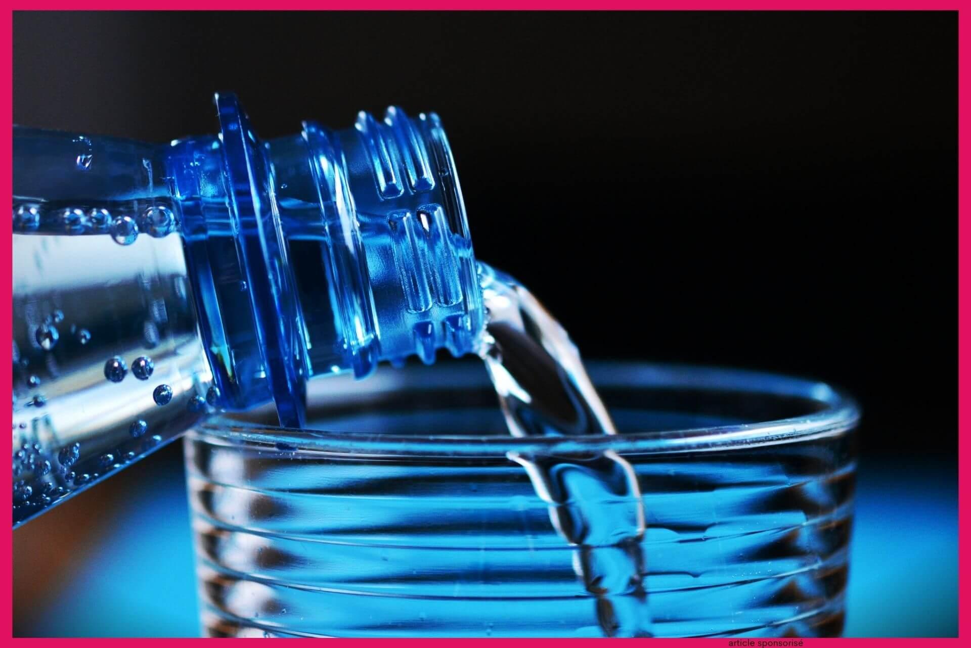 Boire suffisamment d'eau la base pour maintenir son poids