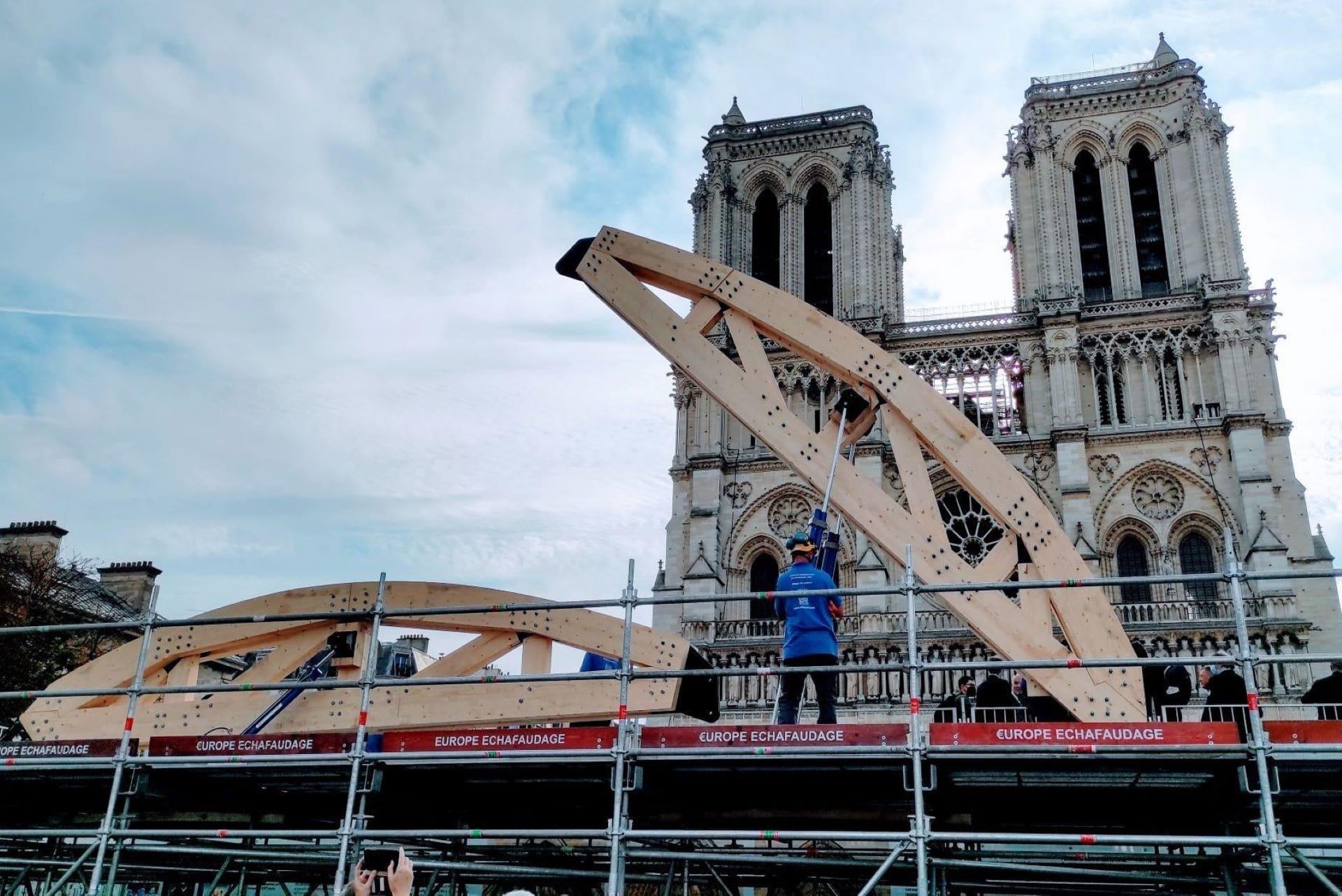 Journées du patrimoine : métiers d'art et chantier de Notre-Dame