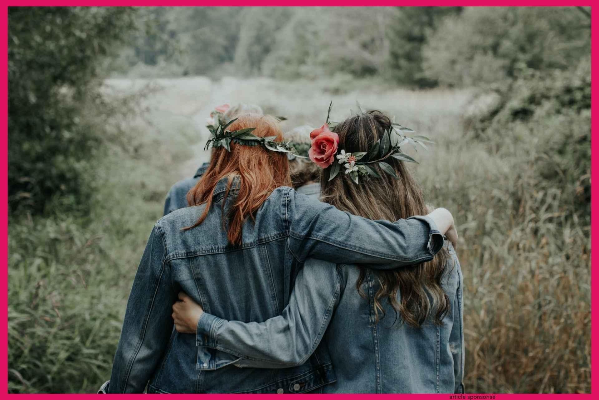 Rendre hommage à une amie proche