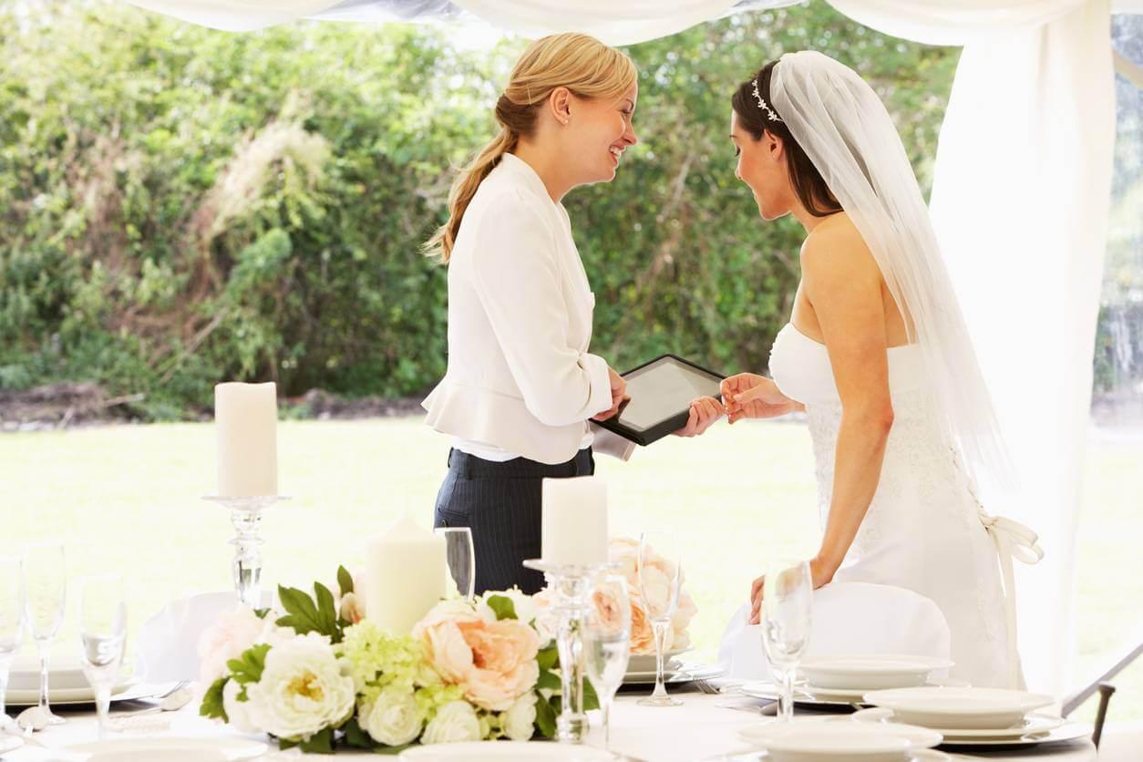 décoration florale mariage mariés