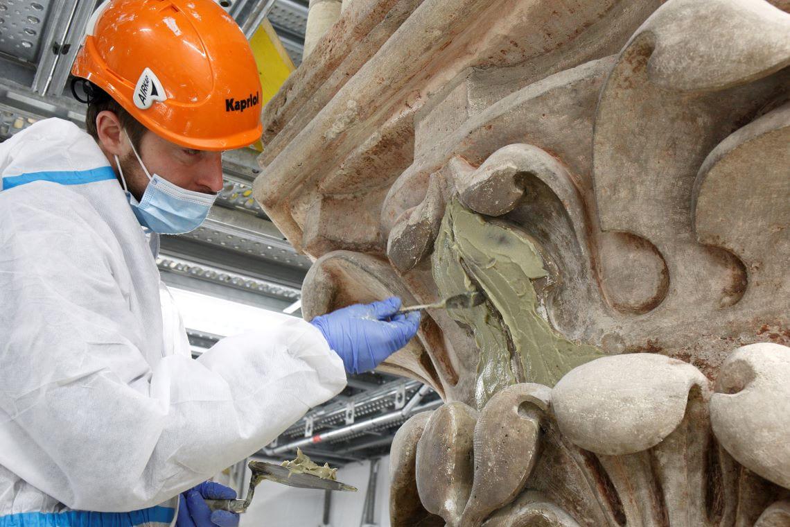 Journées du patrimoine : métiers d'art et restauration de Notre-Dame