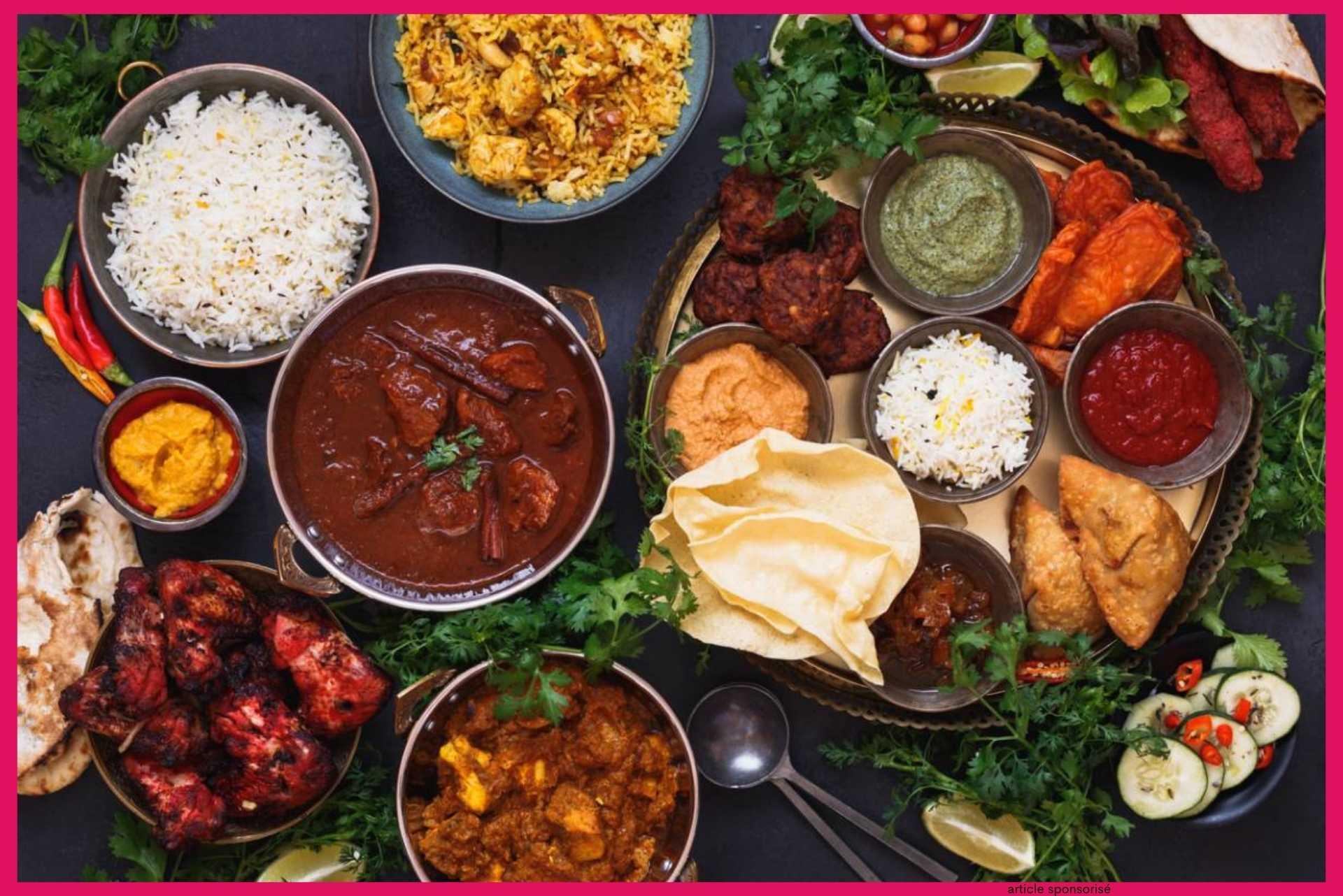 Quelles sont les propriétés de la cuisine indienne ?