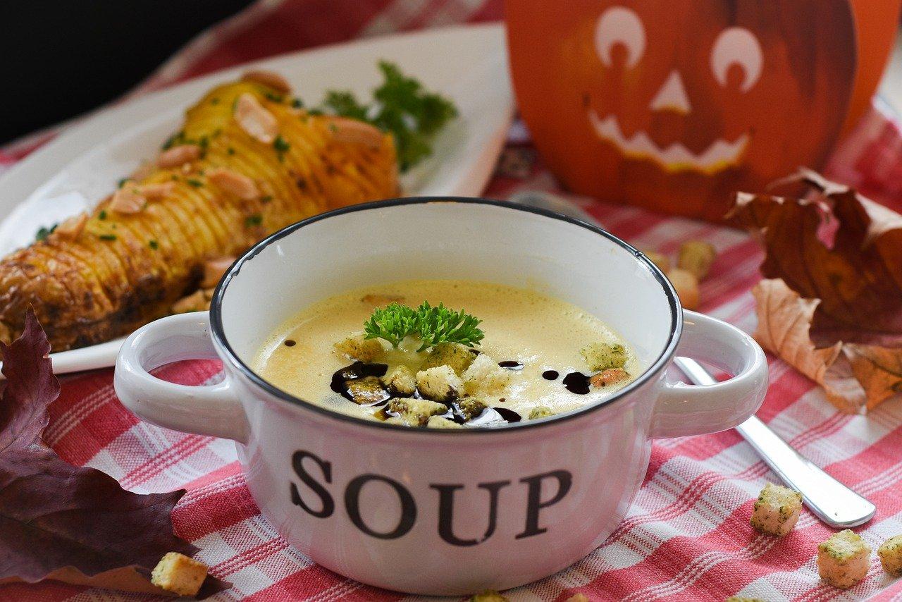 régime anti-froid - une soupe chaude