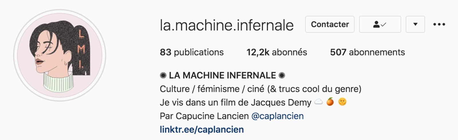 Rencontre avec La Machine Infernale, le compte Instagram popculturel à suivre absolument !