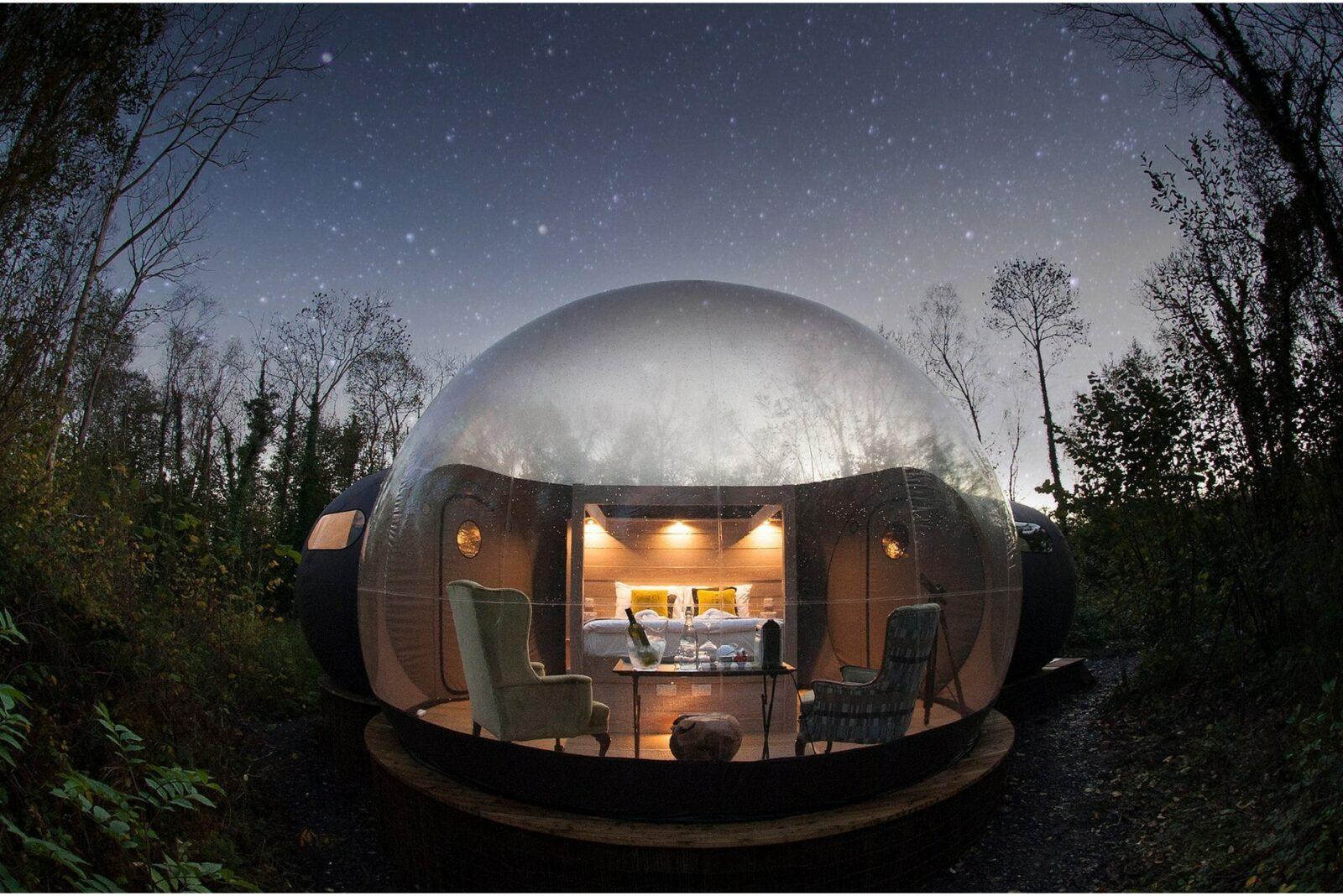 Glamping : nos bonnes adresses pour trouver le bubble hotel idéal