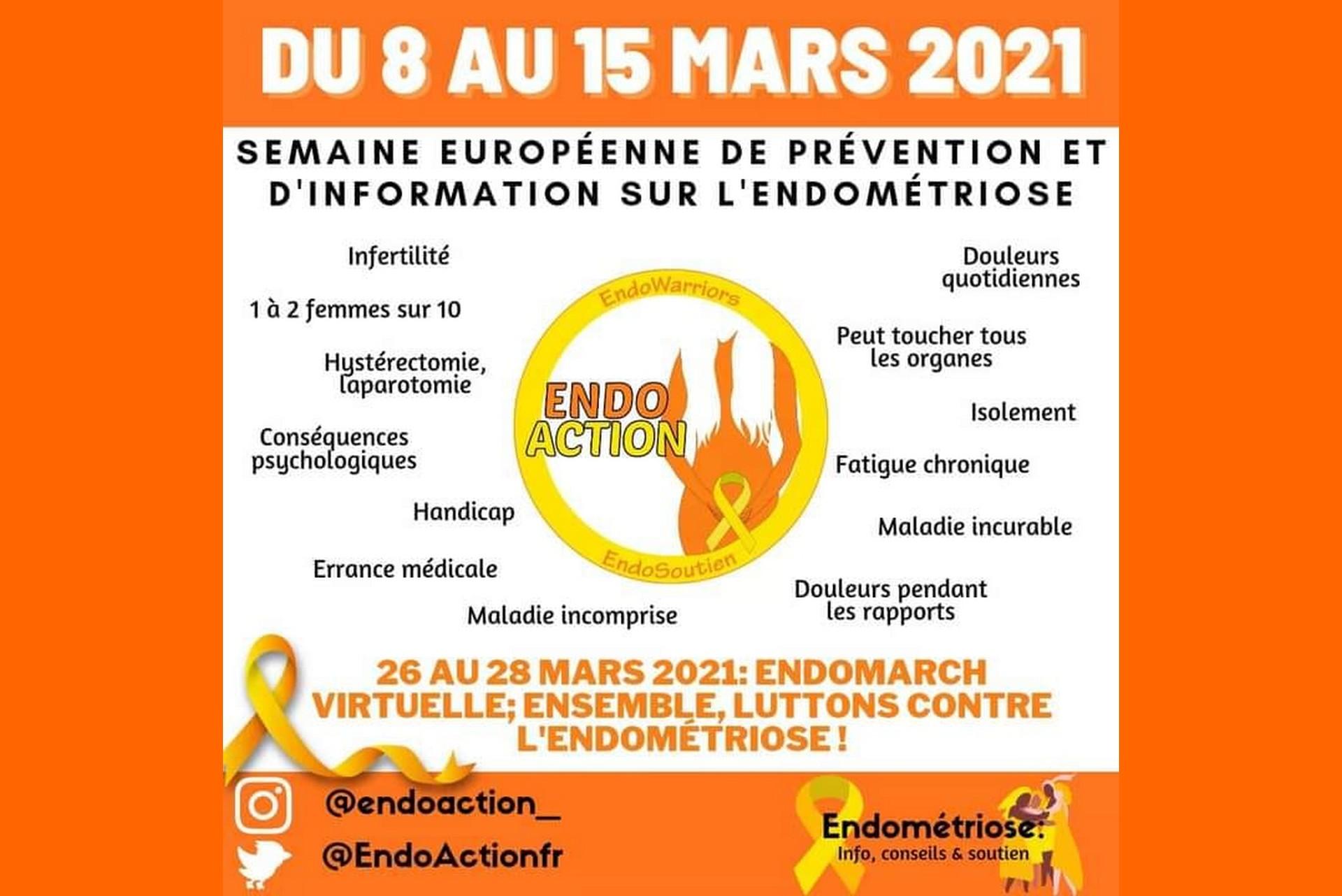 Semaine européenne de prévention sur l'endométriose, la maladie chronique qui touche une femme sur dix
