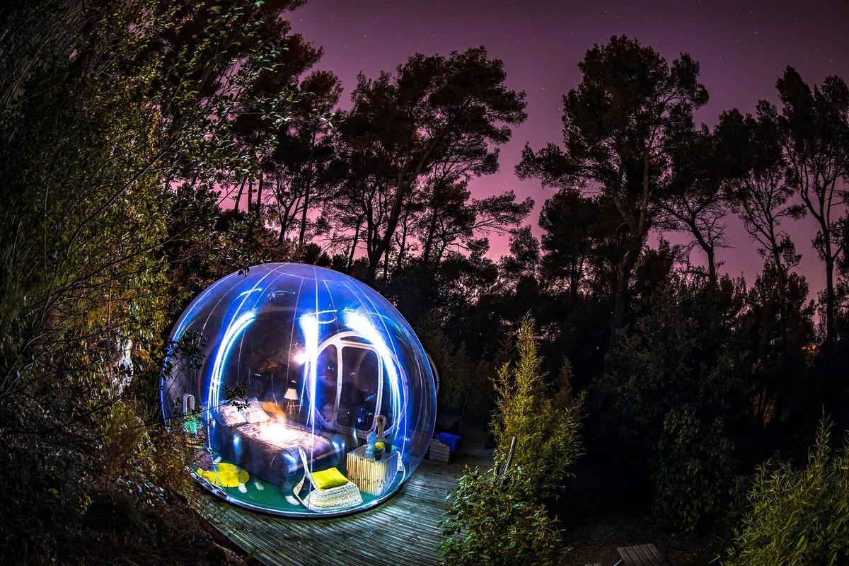 Attrap'Rêves : un bubble hotel en Provence, lauréat d'excellence 2020 TripAdvisor