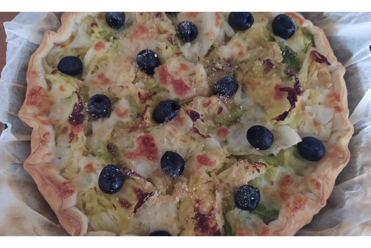 Fantaisie de chou vert avec à la pâte feuilletée plus une recette bonus !
